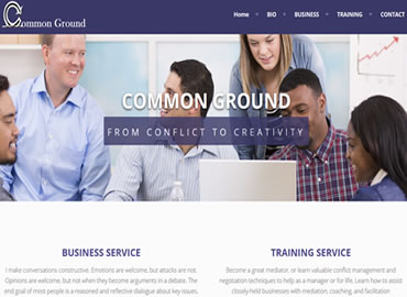 Business consulting website design