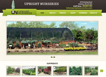 Nursery website design
